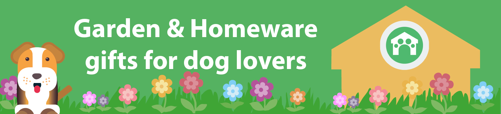 Garden and homeware gifts for dog lovers header image