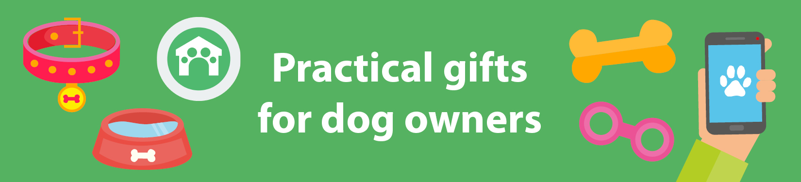 Practical gifts for dog owners header image