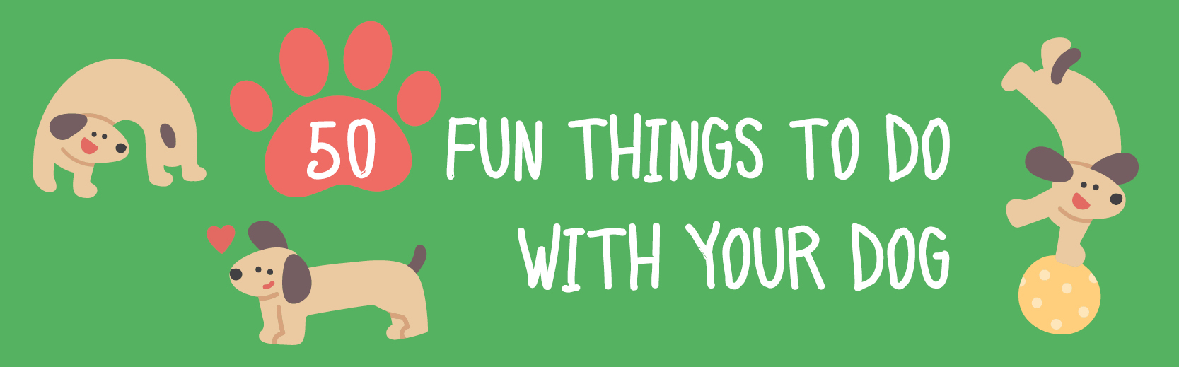 50 fun things to do with your dog - featured image